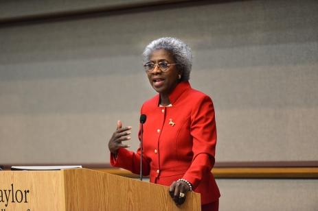 Dr. Hannah Valantine leads workforce diversity efforts at the NIH.