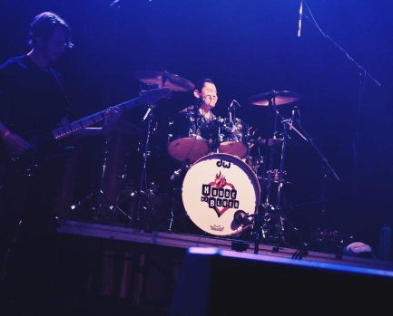 Baylor's Chris Lopez on drums!