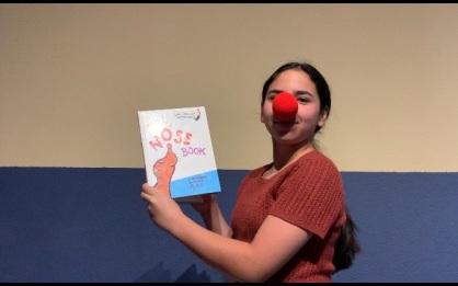 "Isabella Ramirez reads ""The Nose Book."""
