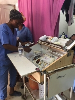 Medical care in The Gambia.