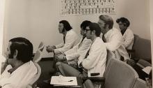 Don Black and his PA classmates.