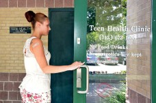 Teen Health Cavalcade Clinic in the Fifth Ward.